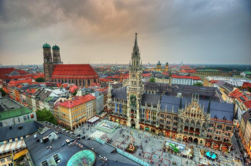 Mercado de Munich fotografia de stock