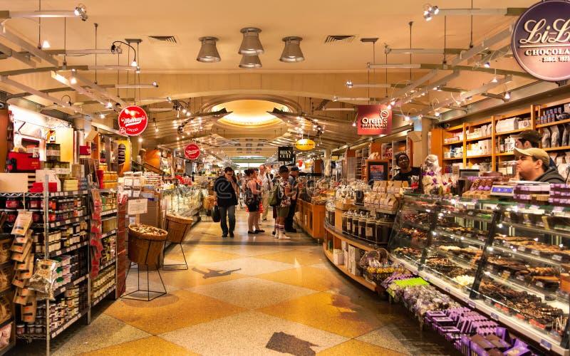 Mercado de New York - de Grand Central fotografia de stock royalty free