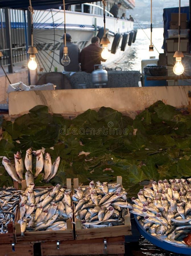 Mercado de pescados imagenes de archivo