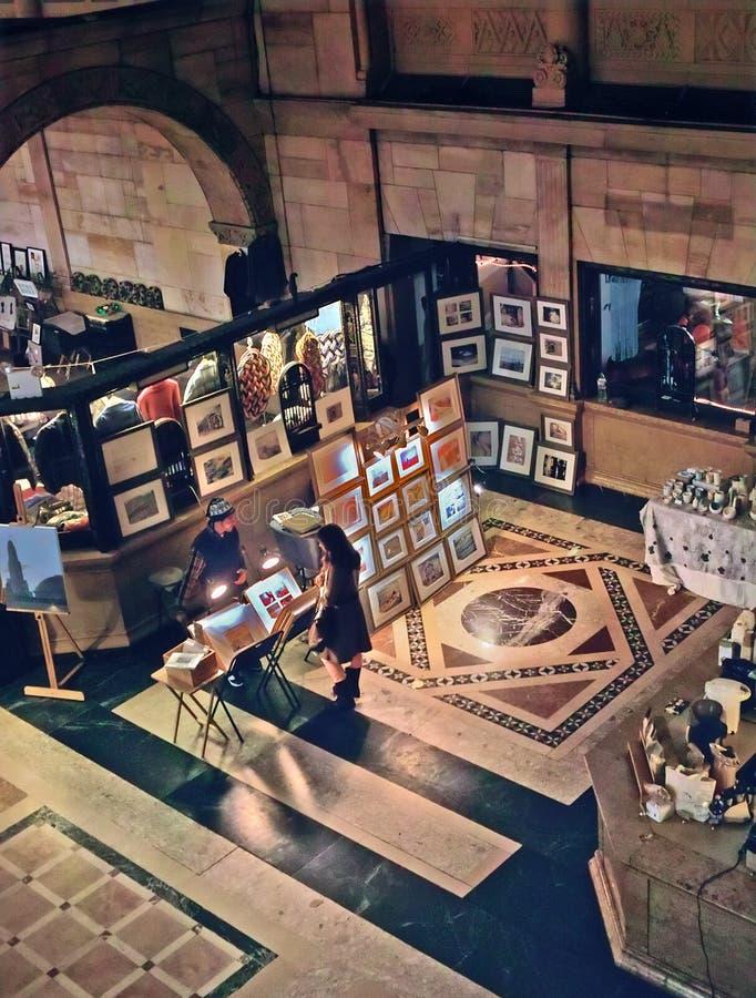 Mercado de pulga New York de Brooklyn fotos de stock royalty free