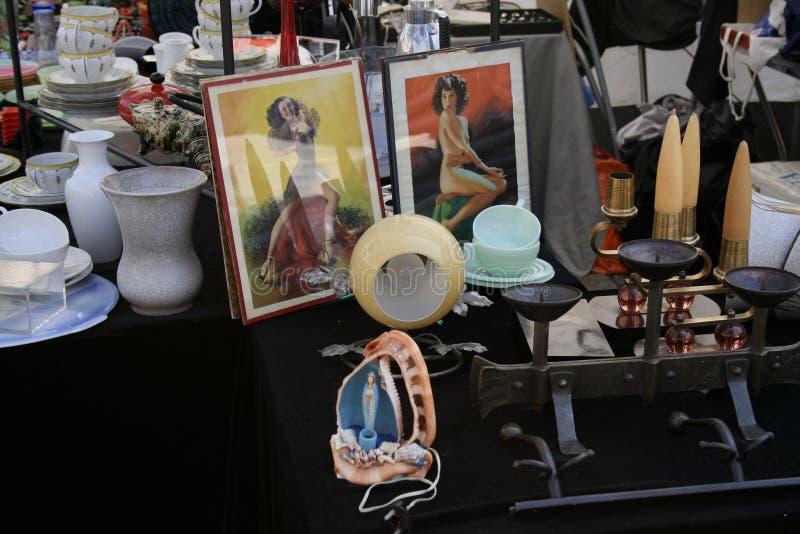 Mercado de pulgas fotos de archivo libres de regalías