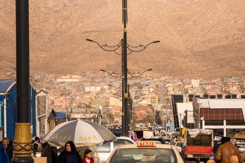 Mercado de pulgas en Iraq fotos de archivo