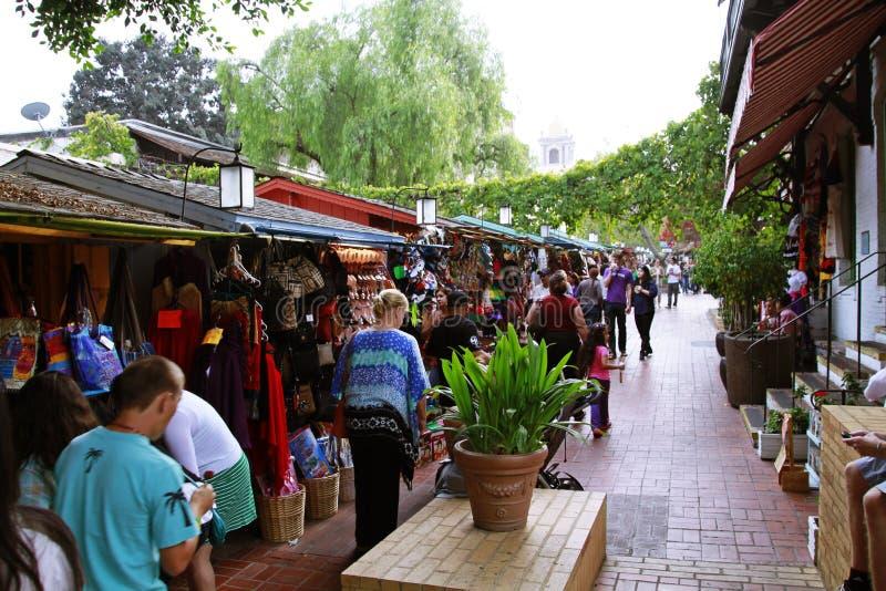 Mercado de rua de Olvera imagem de stock royalty free