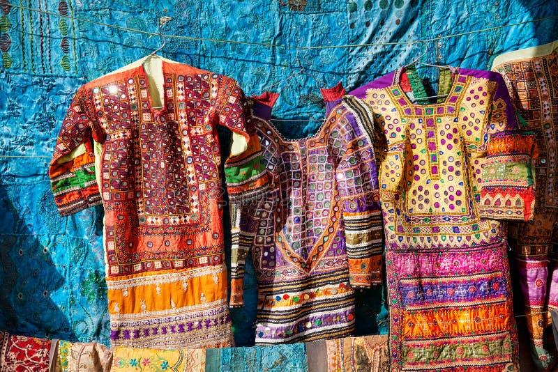 Mercado de rua do forte de Jaisalmer fotos de stock