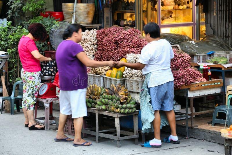 Mercado de rua de Manila foto de stock royalty free