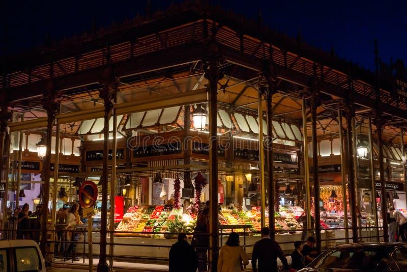 ` Mercado de San Miguel ` в Мадриде стоковое фото rf