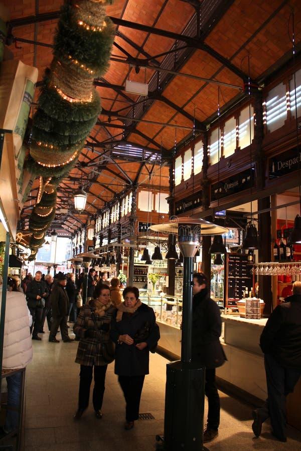 Mercado de San Miguel, Madrid royalty free stock photo