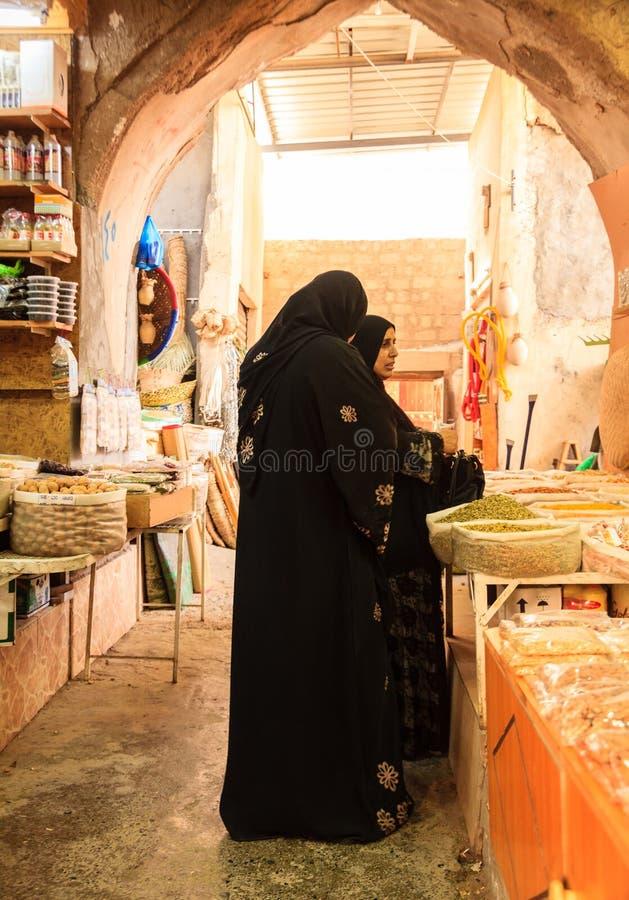 Mercado de sexta-feira em Nizwa imagens de stock royalty free
