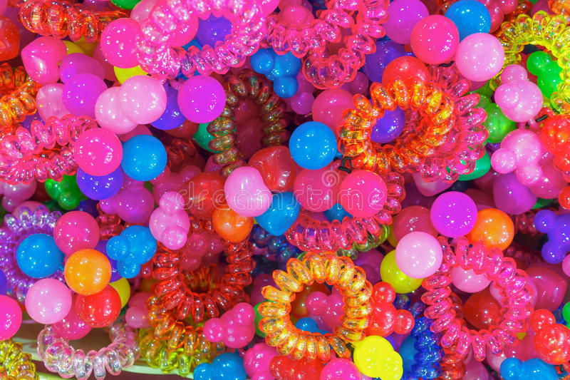 Mercado de Siti Khadijah Color scrunchy foto de archivo
