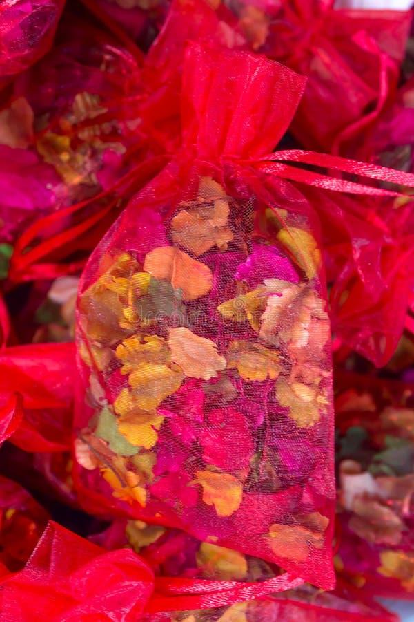 Mercado de Siti Khadijah Incienso rojo imágenes de archivo libres de regalías