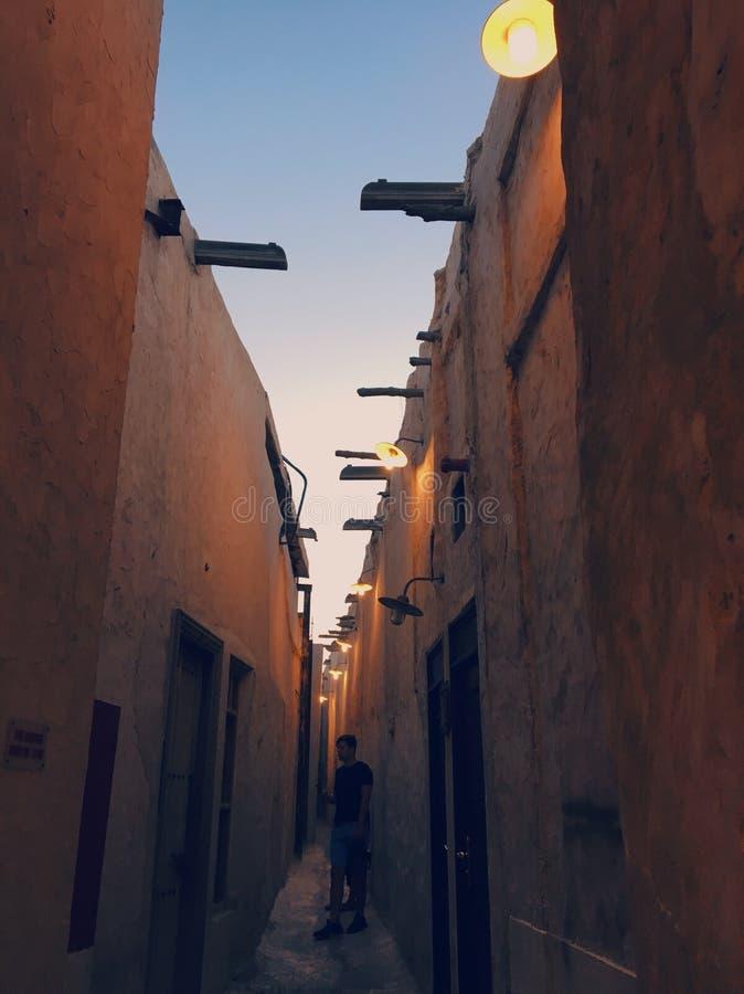 Mercado de Souq Waqif imágenes de archivo libres de regalías