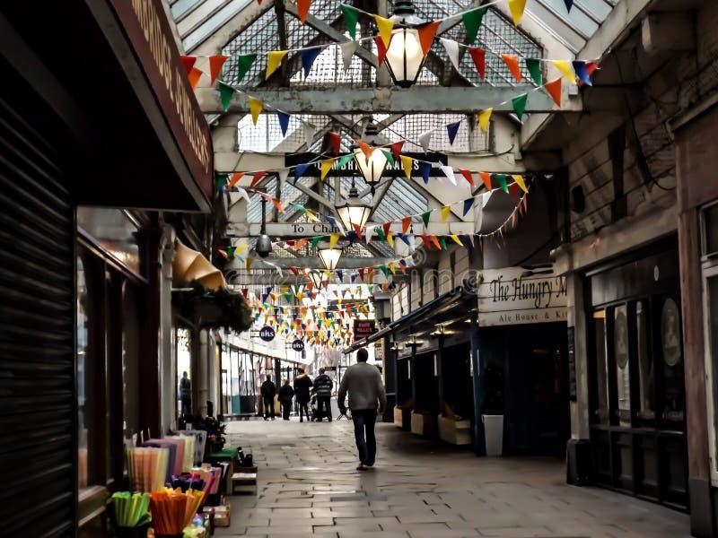 Mercado de Southport foto de archivo