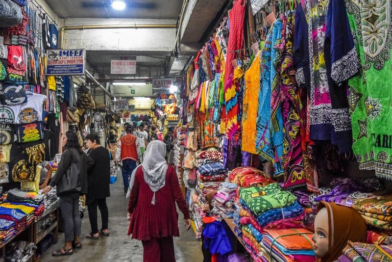 Mercado de Trip_Public da estrada de Baguio Filipinas fotografia de stock royalty free