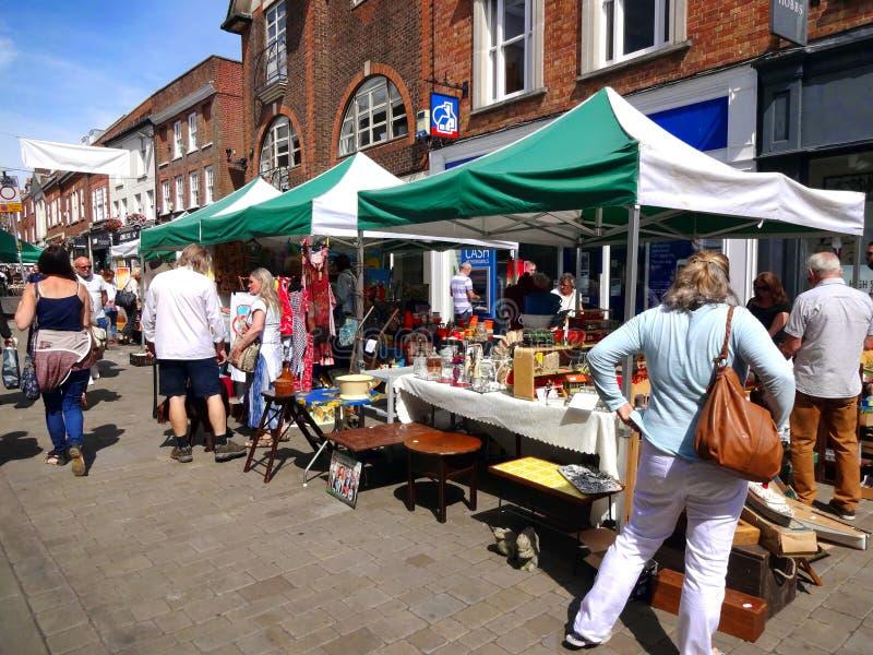 Mercado de Winchester fotos de stock