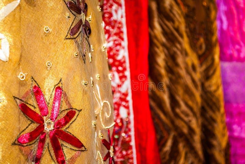 Mercado del batik fotos de archivo libres de regalías