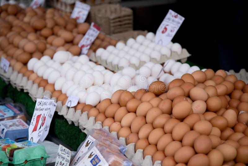Mercado del huevo imágenes de archivo libres de regalías
