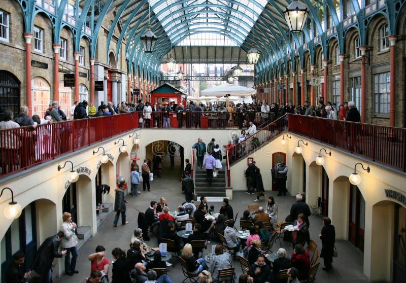 Mercado del jardín de Covent imagen de archivo