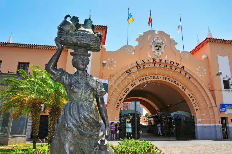 Mercado del Senora de África de Nuestra, Tenerife foto de archivo libre de regalías