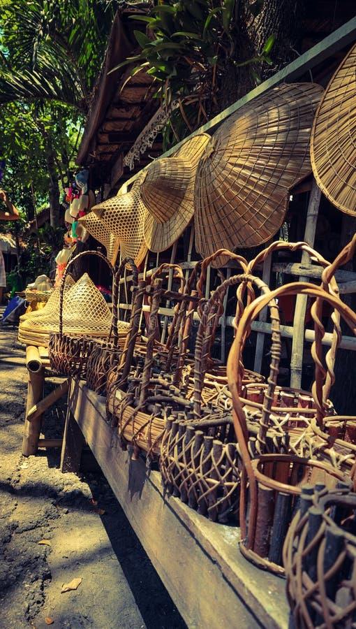 Mercado del viejo estilo imagen de archivo
