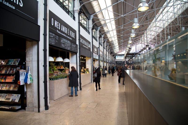 Mercado a Dinamarca ribeira foto de stock royalty free