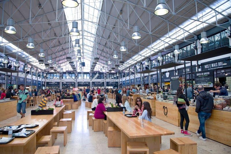 Mercado a Dinamarca ribeira imagens de stock
