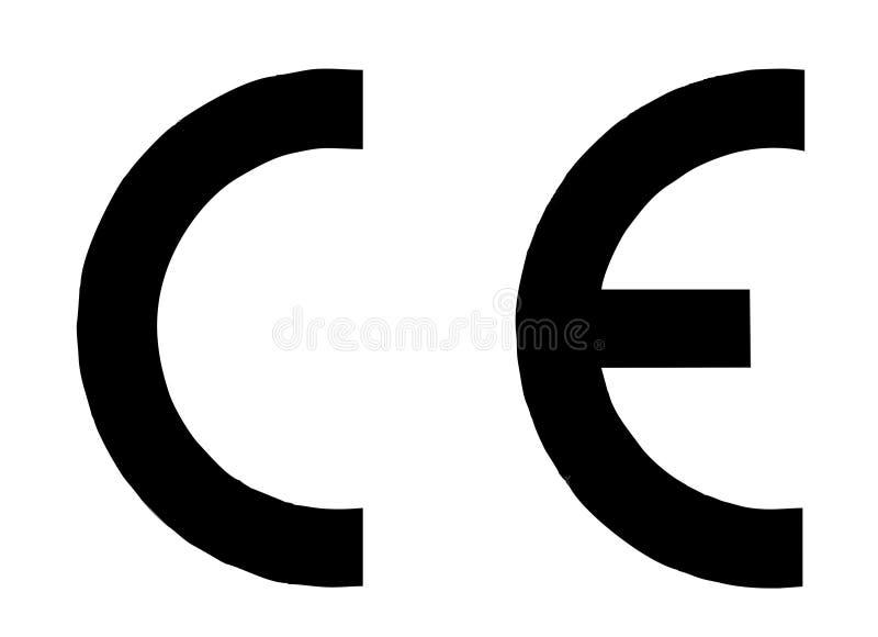 Mercado do CE ilustração royalty free