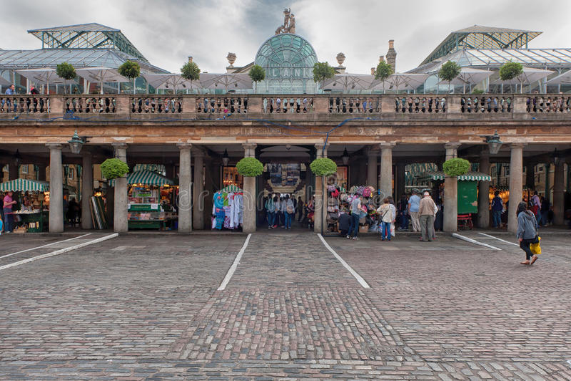 Mercado do jardim de Covent fotos de stock