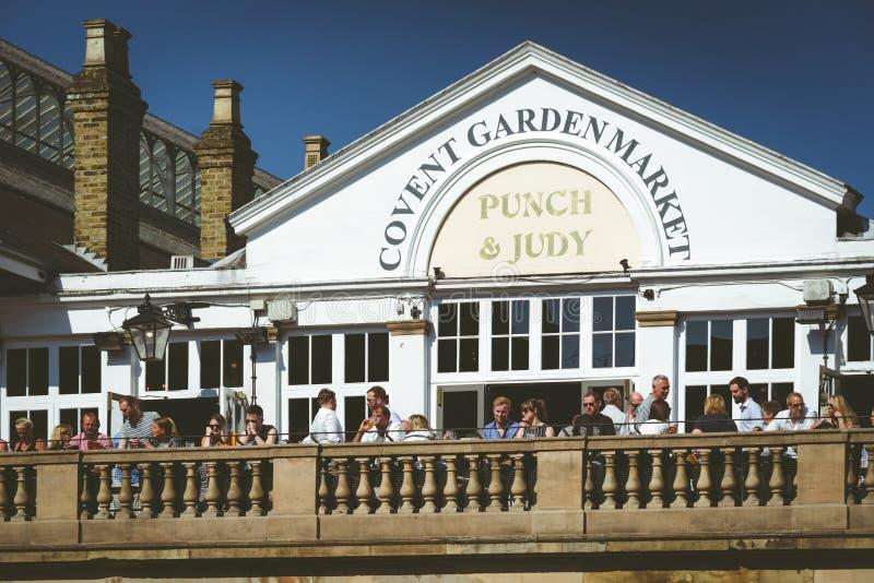 Mercado do jardim de Covent, Londres imagem de stock royalty free