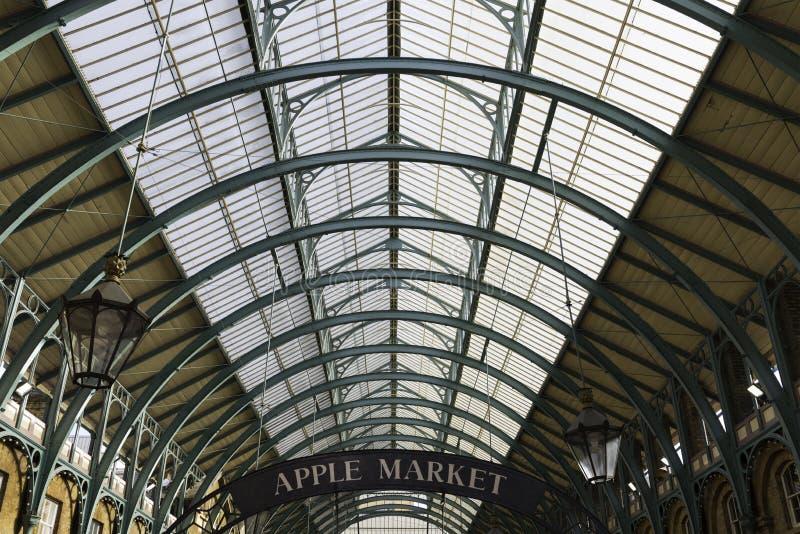Mercado do jardim de Covent, Londres foto de stock