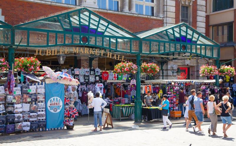 Mercado do jardim de Covent, Londres imagem de stock