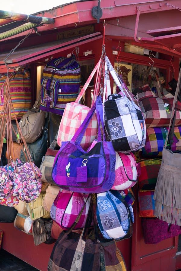 Mercado do mexicano da rua DTLA de Olvera foto de stock royalty free