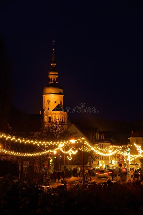 Mercado do Natal de Spremberg imagens de stock