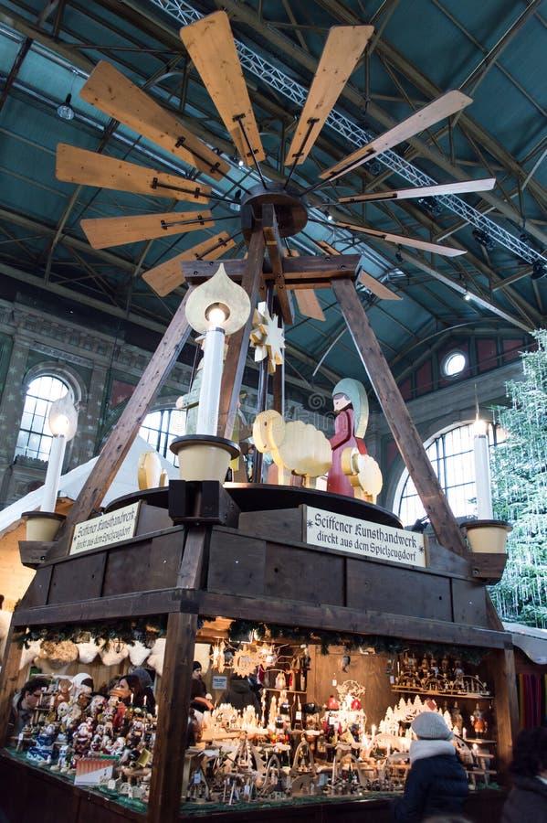 Mercado do Natal de Zurique imagem de stock royalty free