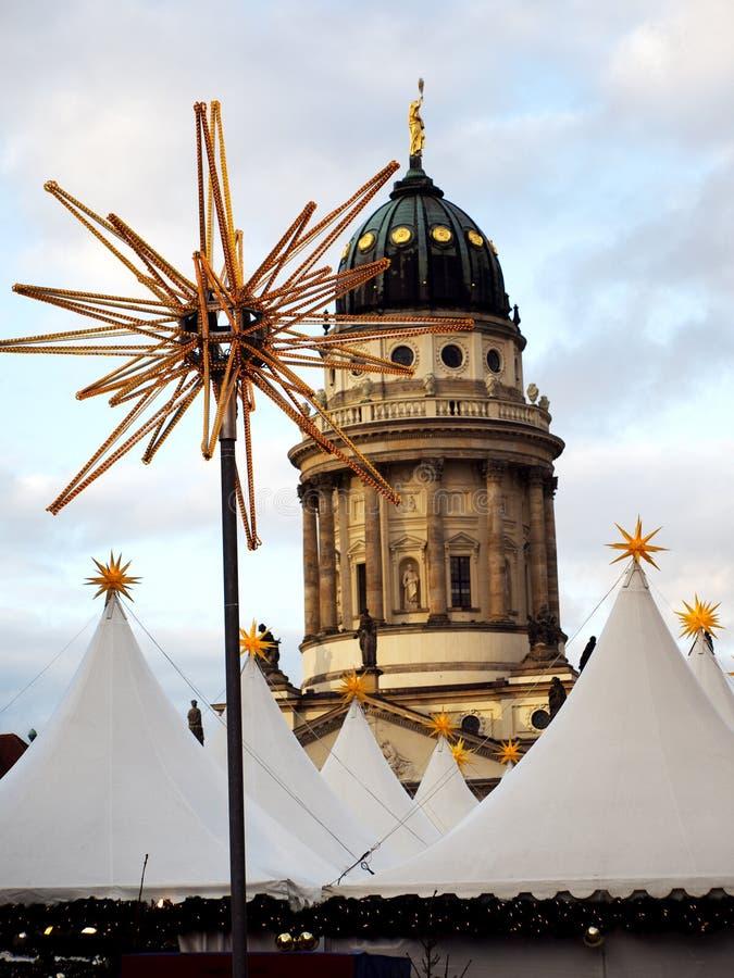 Mercado do Natal em Berlim imagens de stock royalty free