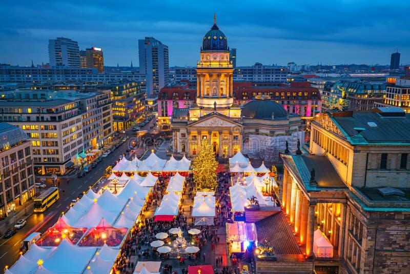 Mercado do Natal em Berlim foto de stock royalty free