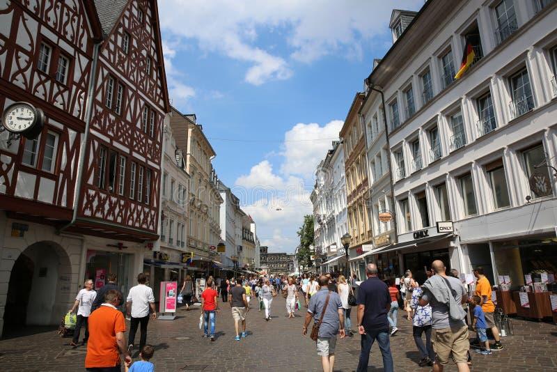 Mercado do Trier germany fotografia de stock royalty free