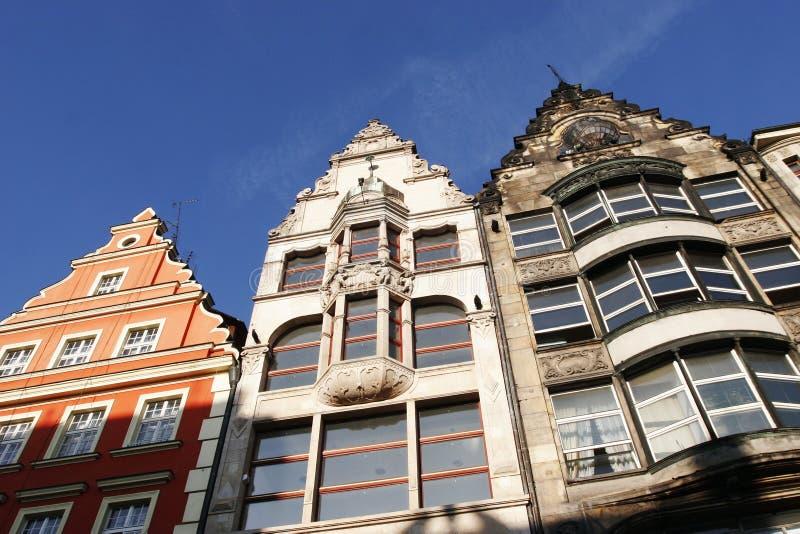 Mercado do Wroclaw imagem de stock