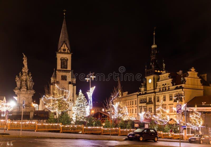 Mercado dos hristmas do ¡ de Ð em Kladno, República Checa imagens de stock royalty free
