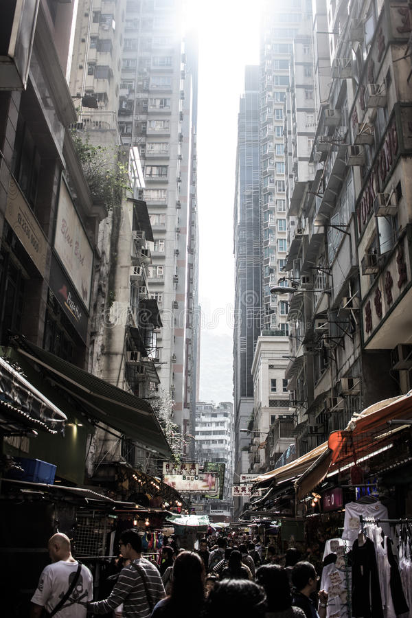 Mercado em Hong Kong foto de stock royalty free