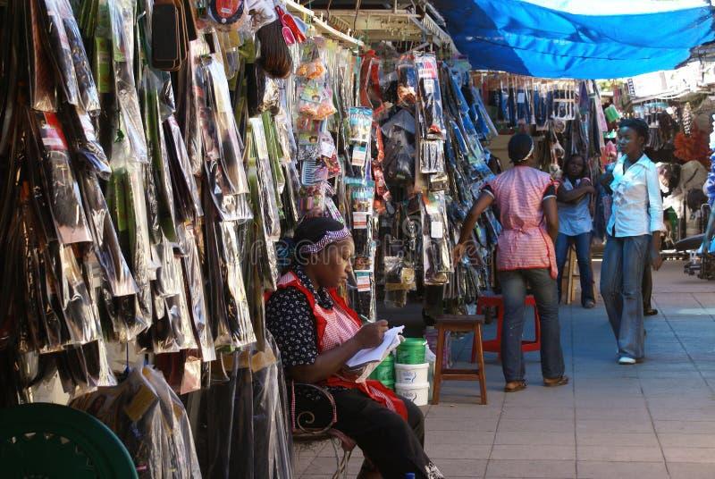 Mercado em Maputo fotos de stock