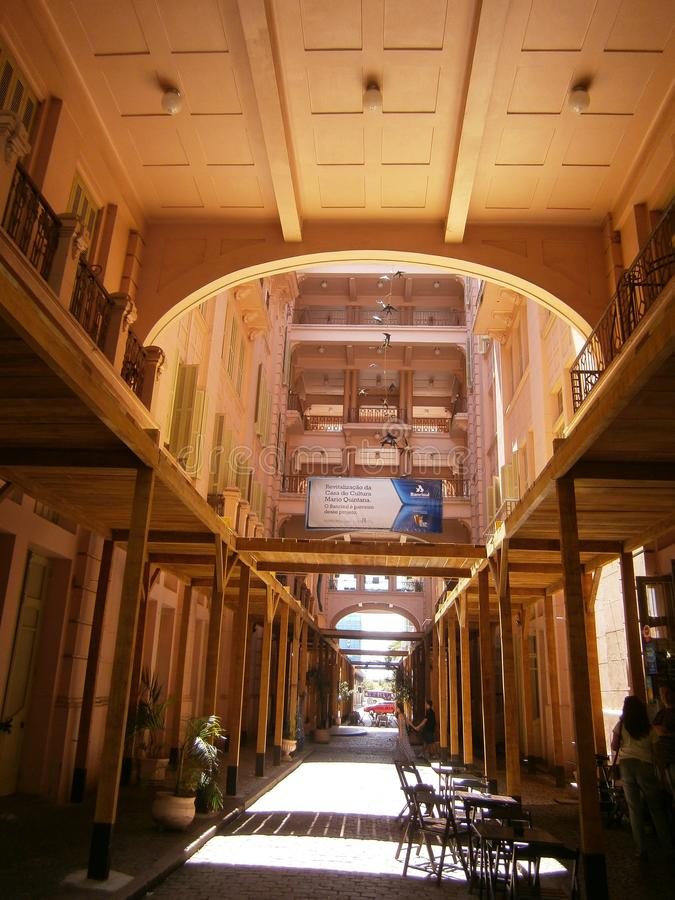Mercado em Porto Algre imagens de stock royalty free