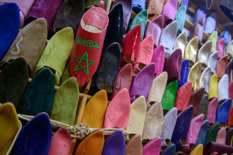 Mercado em Rabat, Marrocos fotografia de stock