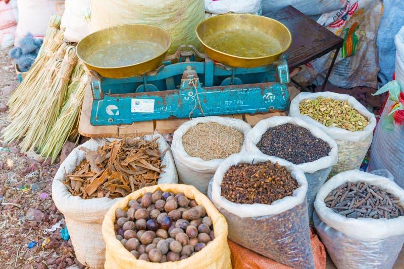 Mercado en Bahir Dar imagenes de archivo