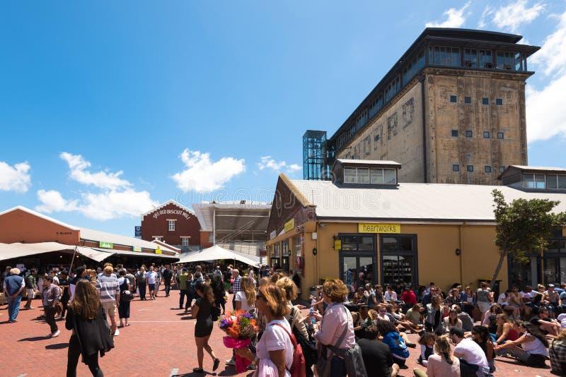 Mercado en Cape Town, Suráfrica imagen de archivo