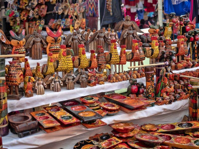 Mercado en Chichicastenango, Chichicastenango, Guatemala imagen de archivo libre de regalías