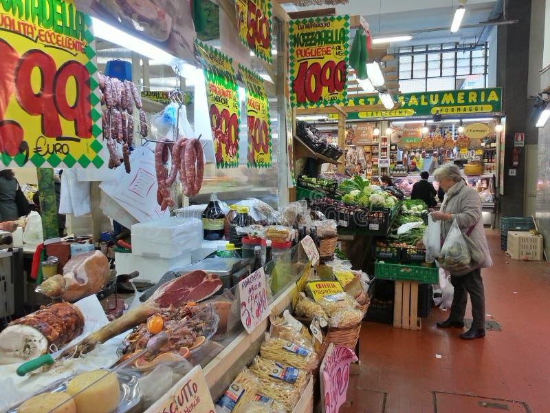Mercado en la ROM foto de archivo libre de regalías