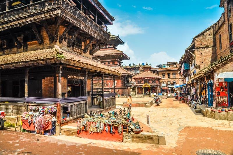 Mercado en Nepal imagenes de archivo