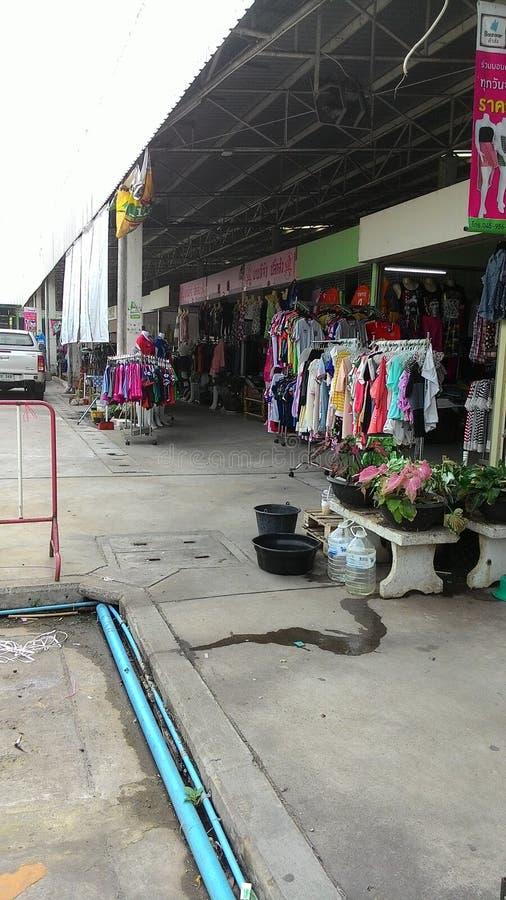 mercado en ubon imagen de archivo libre de regalías