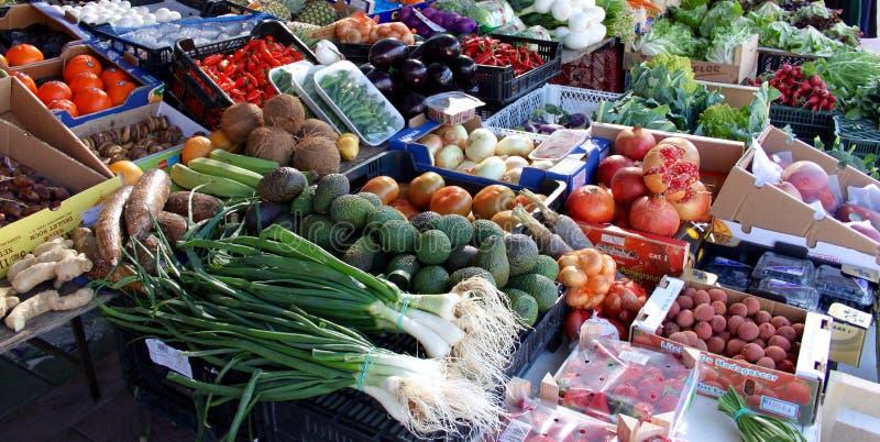 Mercado español imagen de archivo