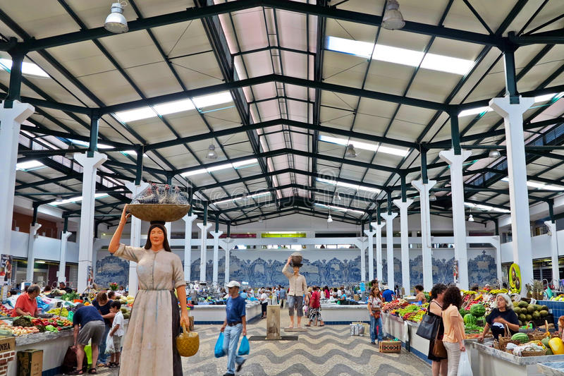 Mercado fa il livramento fotografia stock